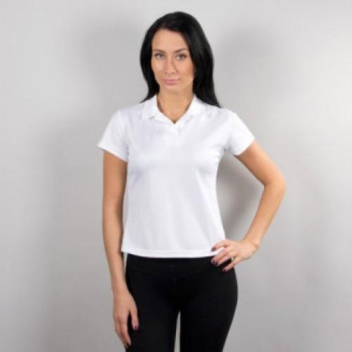 Рубашка - поло жен., ложная сетка, 100% ПЭ - 2 сорт