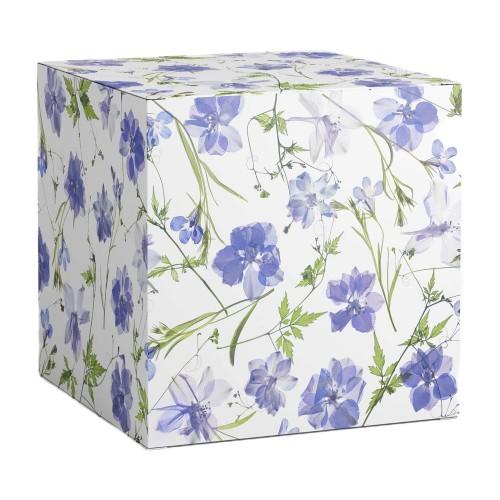 """Коробка под кружки """"Полевые цветы"""""""