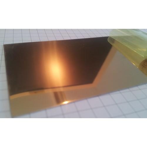 Кругляш для медали зеркальное золото 50мм