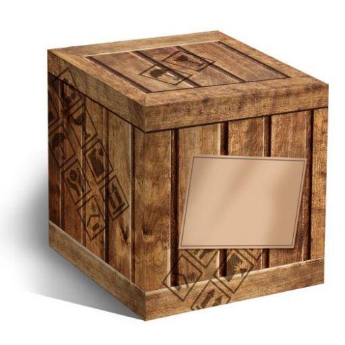 """Коробка под кружки """"Деревянный ящик"""""""