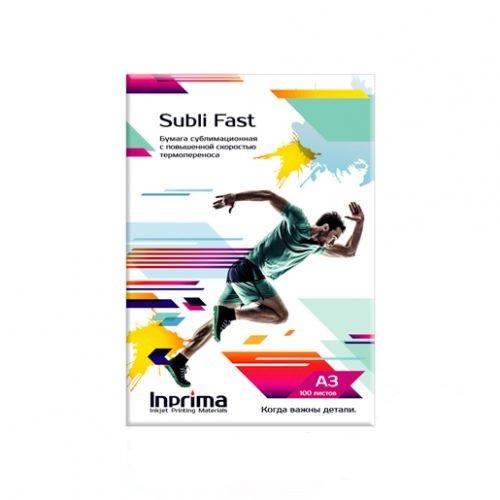 Бумага сублимационная Inprima Subli Fast A3 с высокой скоростью термопереноса