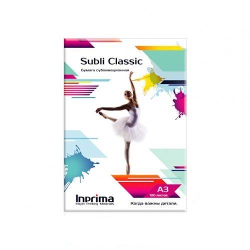 Бумага сублимационная Inprima Subli Classic A3