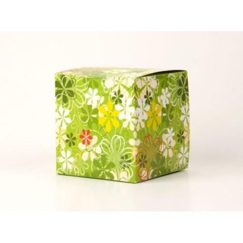 """Коробка под кружки """"зеленая"""""""