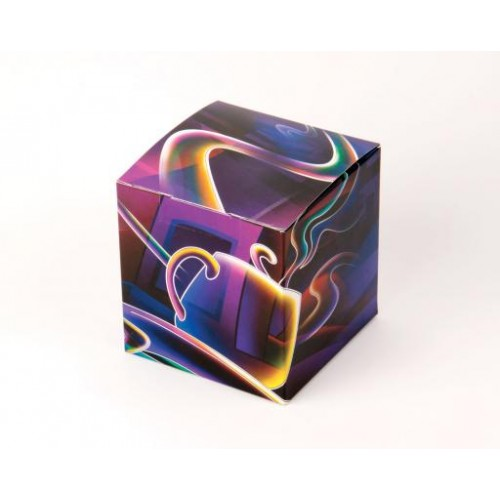 """Коробка под кружки """"фиолетовая"""""""