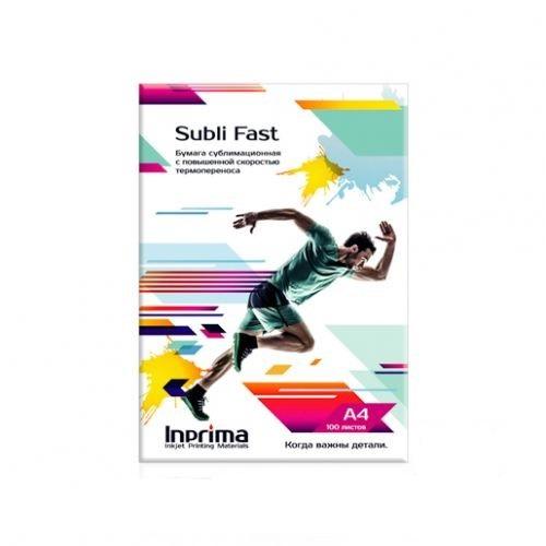 Бумага сублимационная Inprima Subli Fast A4 с высокой скоростью термопереноса