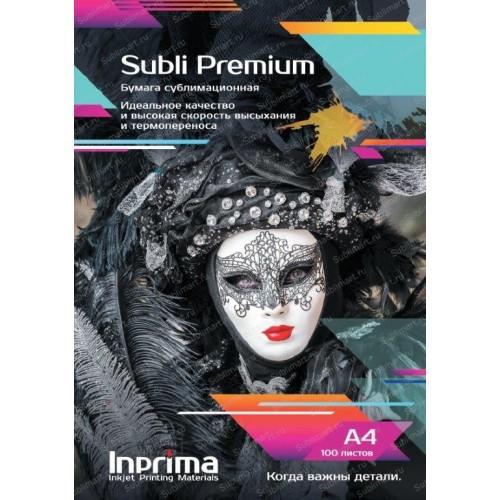 Бумага сублимационная Inprima Subli Premium A4