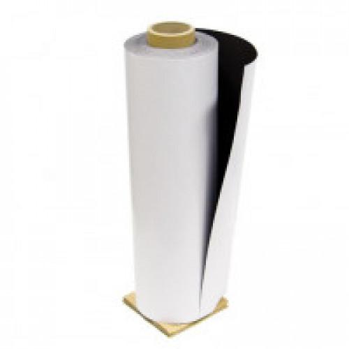 Магнитный винил с клеевым слоем в рулоне, 0,4мм