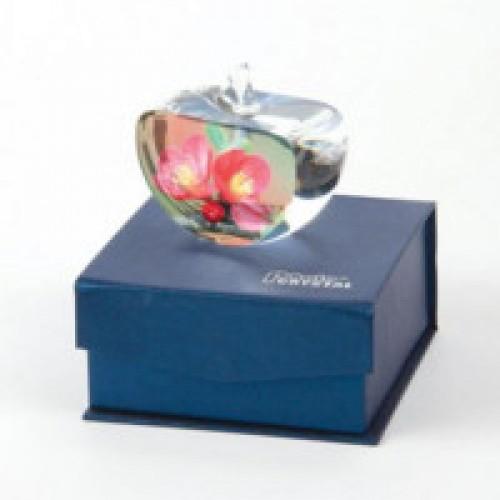 Заготовки стеклянные SJ18, 80х70х40 mm, яблоко