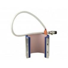 ЗИП нагревательный  для кружек малый диаметр (термопресс ST-210), розетка