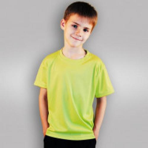Футболка детская синт., зеленая