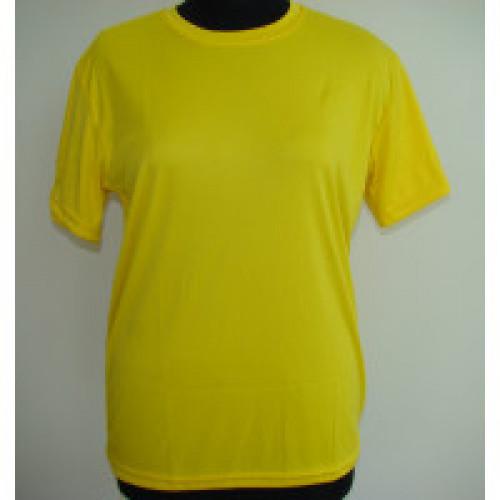 Футболка муж. синтетика желтая