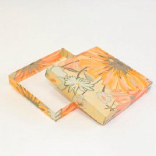 Коробка под тарелки упаковочная (Цветы)*(в наличие на складе г. Барнаула)