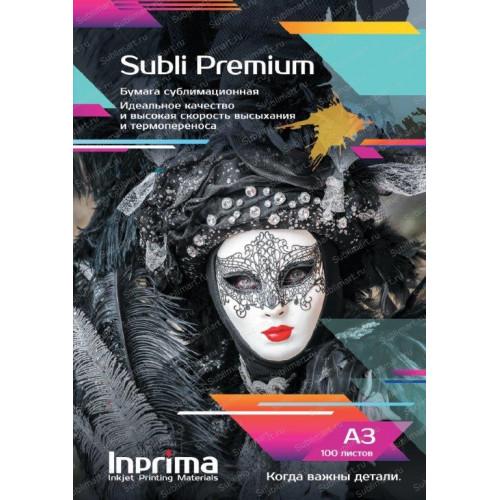 Бумага сублимационная Inprima Subli Premium A3