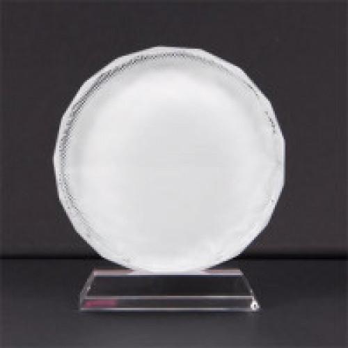 Кристалл для сублимации BSJ03А, d=150мм, в виде подсолнуха