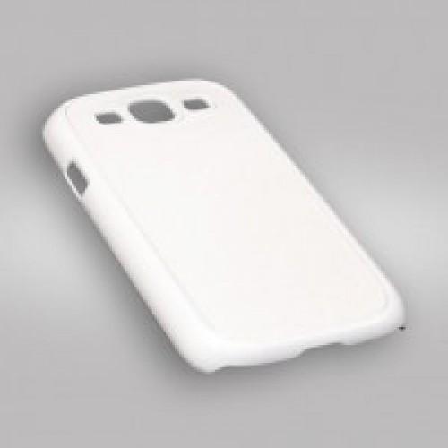 Чехол для 3D для Samsung Galaxy S3, пластик, белый глянцевый
