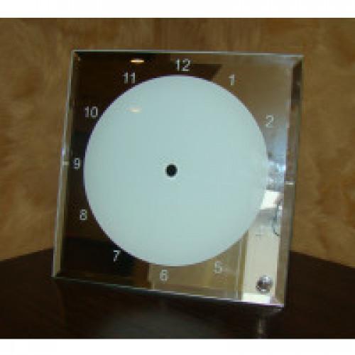 Кристалл для сублимации, ЧАСЫ ,квадрат 200х200 мм ,BL14,(зеркальные)