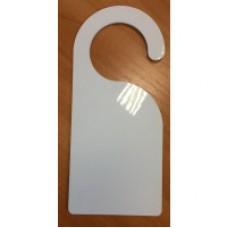 Табличка на ручку двери, стеклопластик, двухсторонняя, 102 х229 мм
