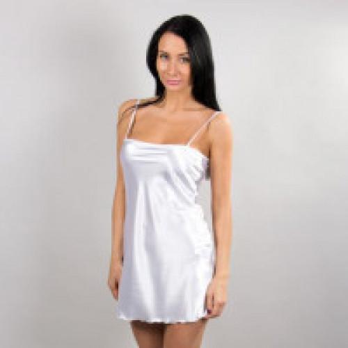 Сорочка ночная, белая