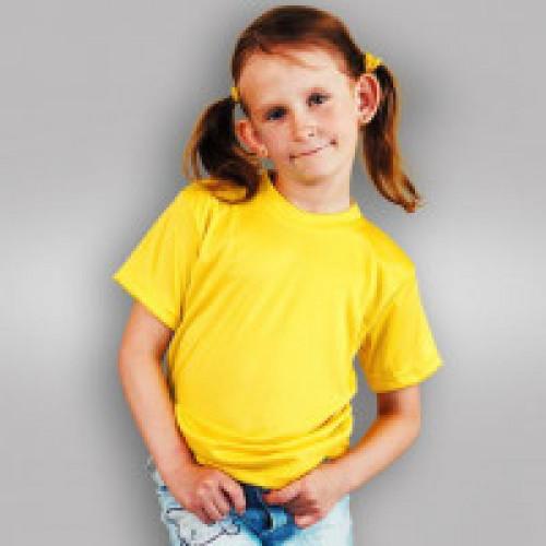 Футболка детская синт. желтая