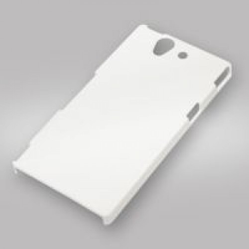 Чехол для 3D XPERIA Z L36h, пластик, белый матовый