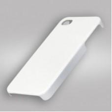 Чехол для 3D для IPhone 4/4S, пластик белый матовый