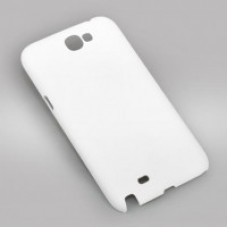 Чехол для 3D для Samsung Galaxy Note2, белый глянцевый